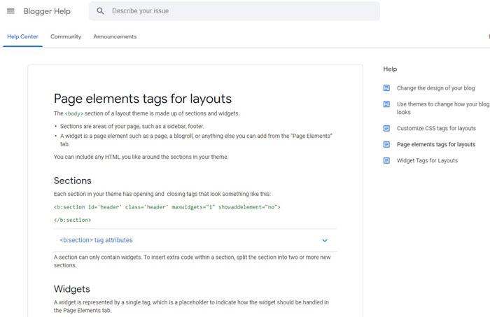 google blogger help