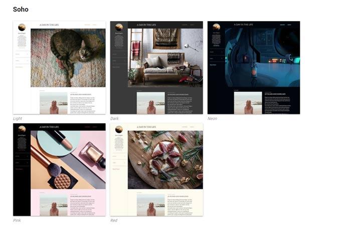 official blogger templates
