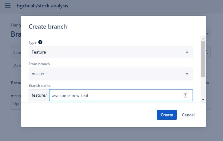 Fill out branch info